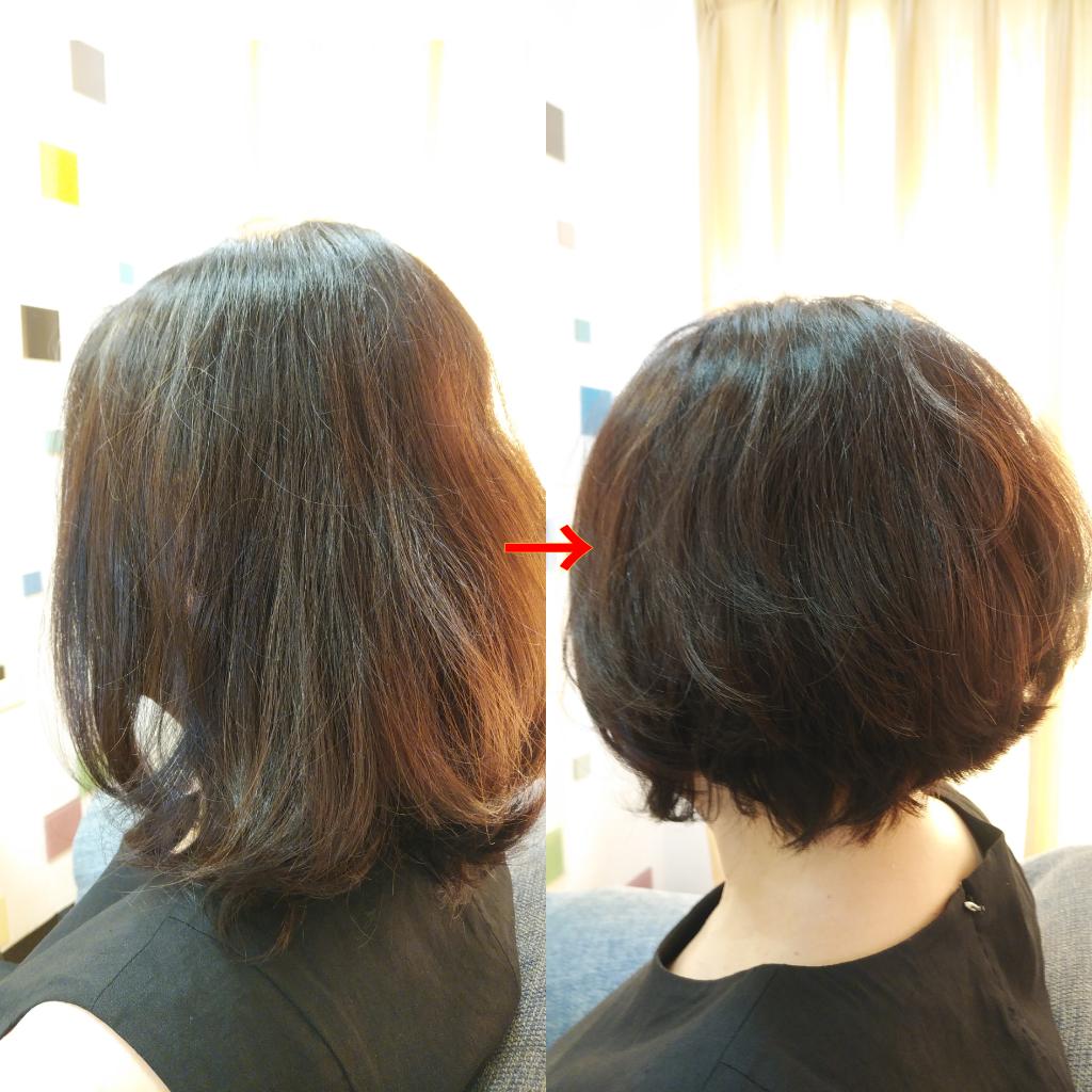 髪型 60 くせ毛 代