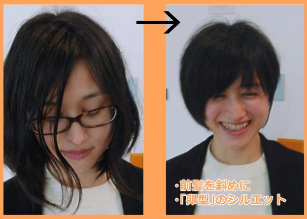 ベース型におすすめの髪型